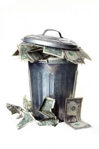 Is your organization throwing cash away?